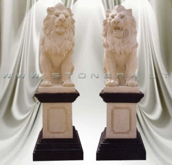 Akmens skulptūra LIŪTAI-SARGAI (pora)