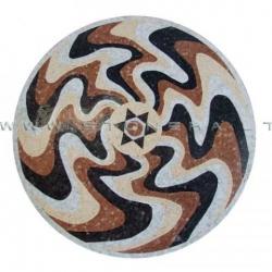 Мозаика из камня Изгиб