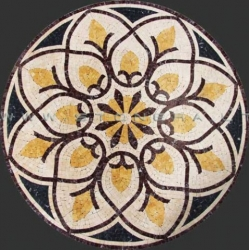 Каменная мозаика ЦВЕТОК