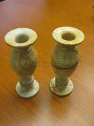 Каменная ваза Незабудка