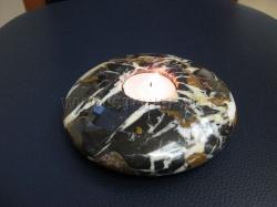 Каменный подсвечник Сатурн