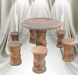 Комплект А-РОМА (стол со стульями)